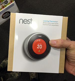 Nest Thermostat box